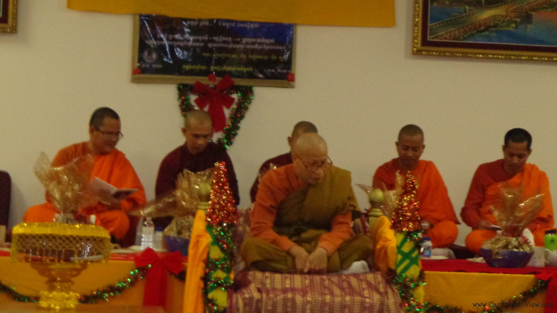 Gratitute Ceremony for the Abbot Keo Hong